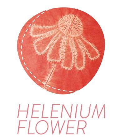 3 -Shibori-Pattern-Helenium-Flower-AW-1