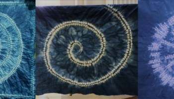 Easy designs for you to create in shibori with the awase ori