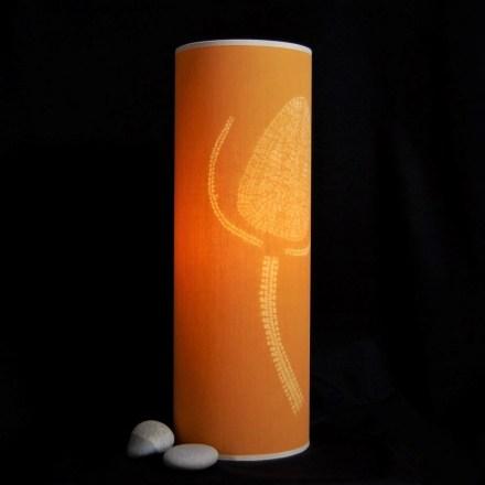 60cm gold teasel lamp 2