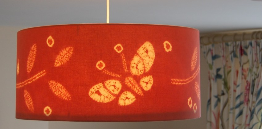 Tips on Creating a unique lampshade like an interior designer