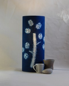 Honesty Seed lamp 50 x 20 cms
