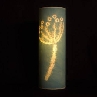 Indigo and fustic hogweed lamp (3)