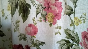 Client's Laura Ashley fabric