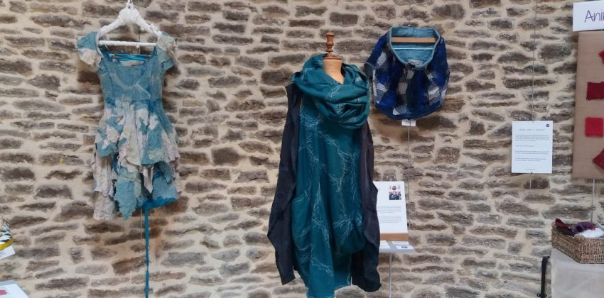 "Sustainable fabric from past to present ""Back to Blue"" exhibition review"