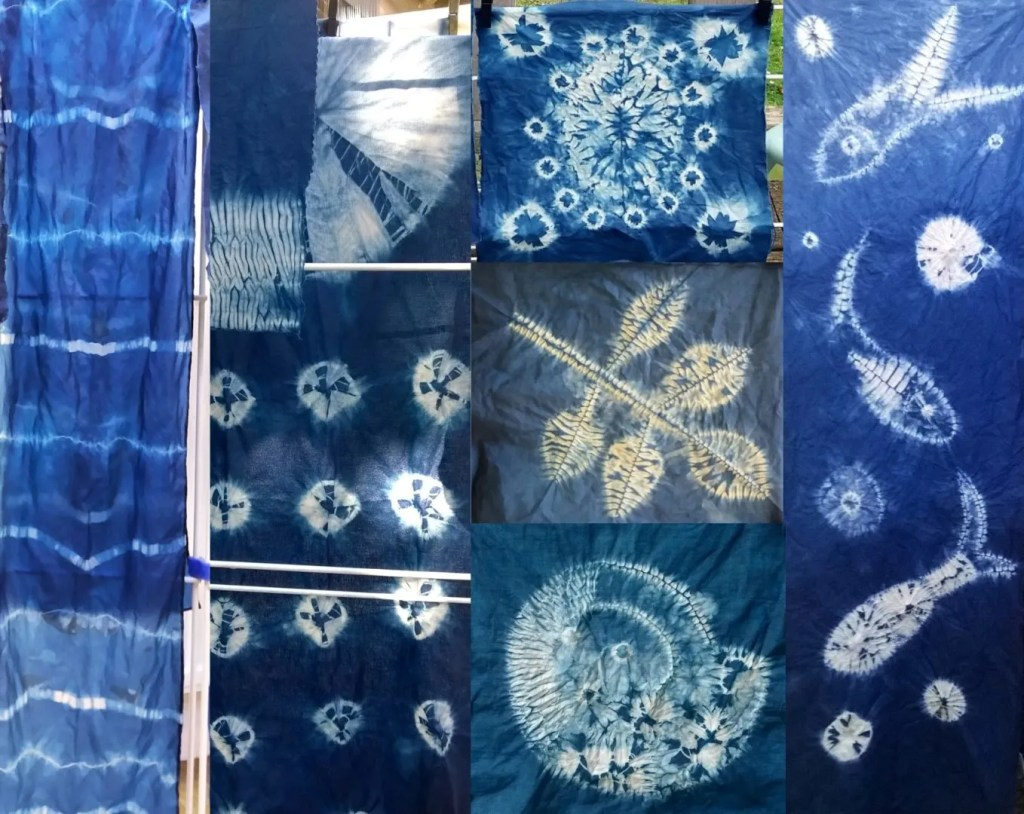 Shibori Workshop multi
