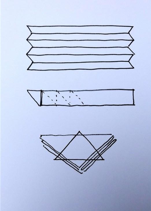 diagram of itajime folding 3