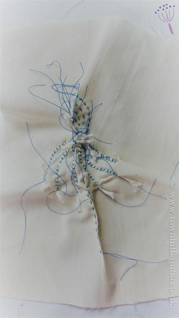 guntai shibori echinacea 2