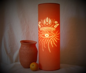 Custom Lamp Design from a Logo