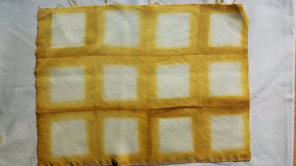 itajime folding squares