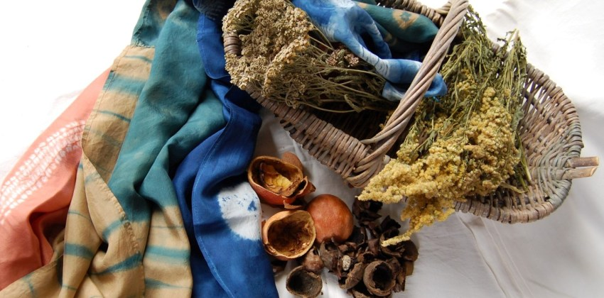 5 Easy steps to prepare fabric for natural plant dyeing