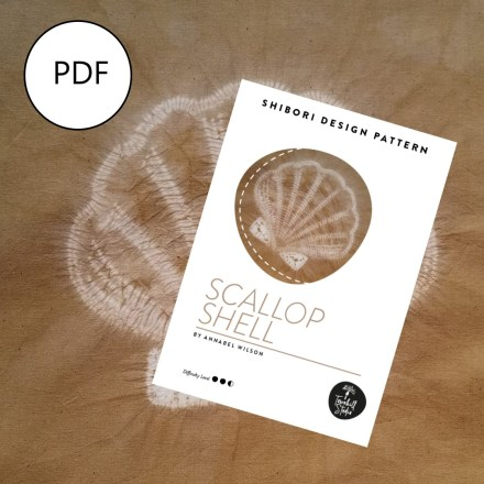 Scallop shell and PDF pattern