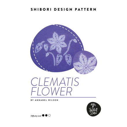 cover of clematis PDF pattern