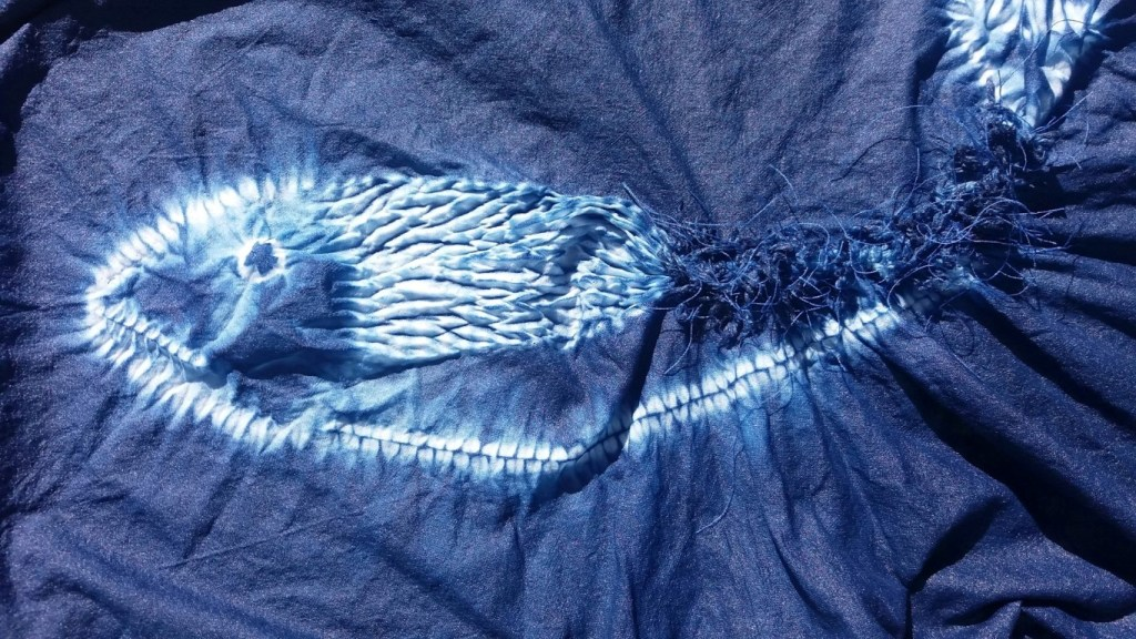 shibori technique leaping salmon (18)