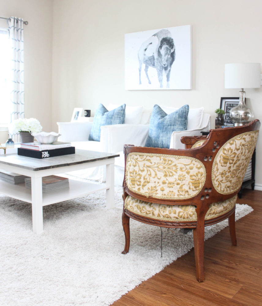 Americana Living Room – San Antonio, TX
