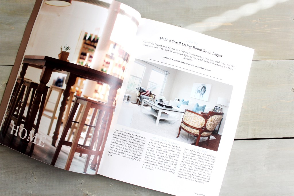 Catch Me in HOLL & LANE || Town Lifestyle + Design || San Antonio Americana Living Room Press