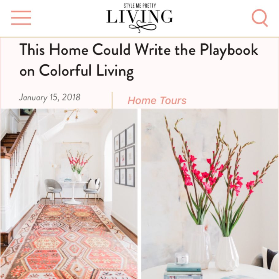 Town Lifestyle and Design || Project Houston Heights || Style Me Pretty Living Press