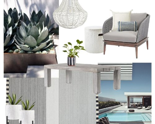JUNE 18 MOODBOARD || Outdoor patio design || Town Lifestyle and Design