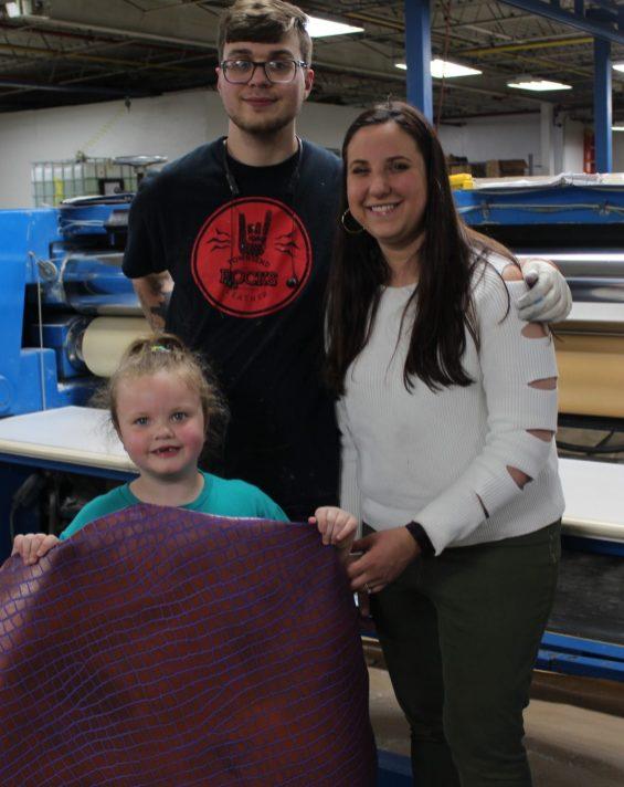 Lauren, Zach and Sarah