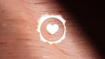 Townsend Leather Heart