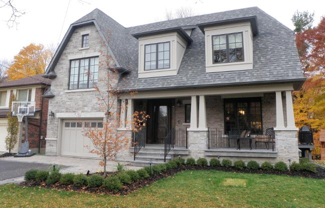 Toronto Home Builders Architectural Design Firm Custom House