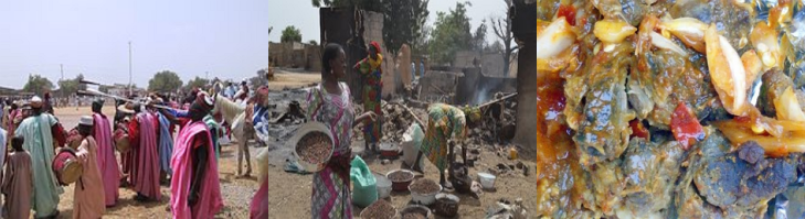 """Sambisa Village which use to be the home base of the most dangerous terrorist attackers in Nigeria popularly called """"Boko Haram"""" is located about 14km away from Kawuri village, which is linking Maiduguri-Bama road in the southeast of Maiduguri,"""