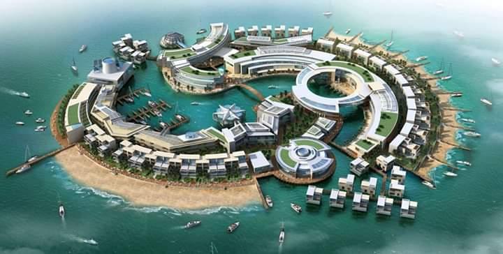 Skyview of Dubai, UAE