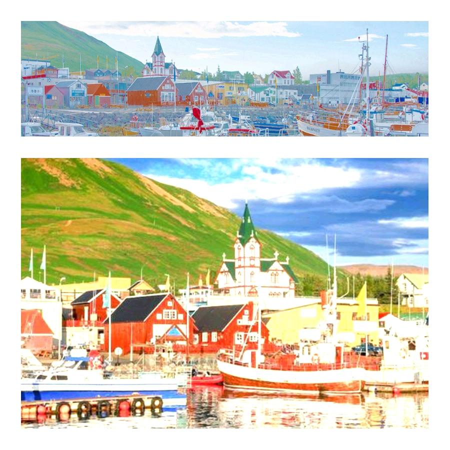 HÚSAVÍK ICELAND