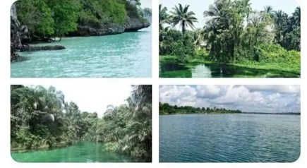 Azumini Blue River in Abia State