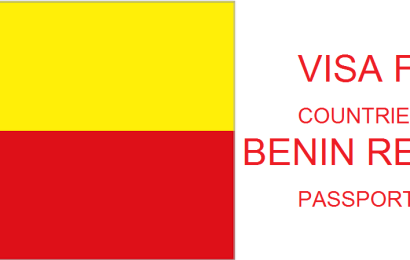 VISA FREE COUNTRIES WITH BENIN REPUBLIC