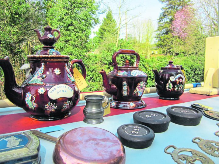 Meashamware teapots are a speciality