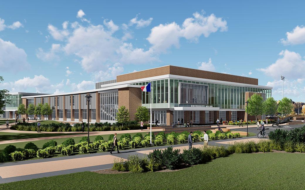 University Union Expansion Towson University
