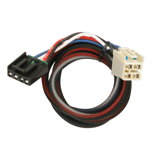 small resolution of tekonsha brake control wiring adapter w 2 plugs wiring adapter with harness for jeep brake controllers