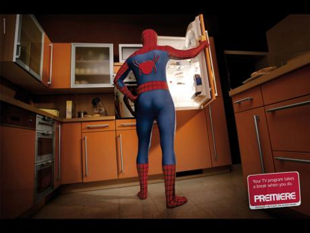 Spiderman Ad