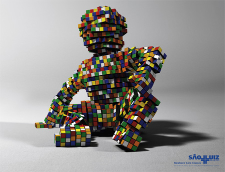 Creative Rubik's Cube Ads