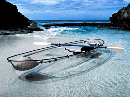 Transparent Canoe 4