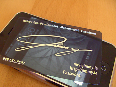 Jimmy.la Business Card