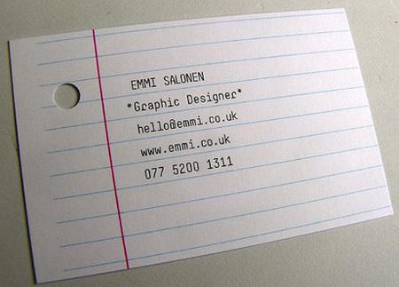 Emmi Business Card