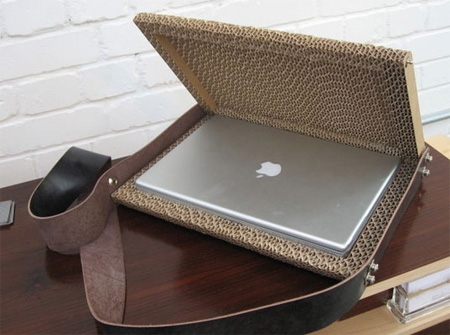 Corrugated Cardboard Laptop Case