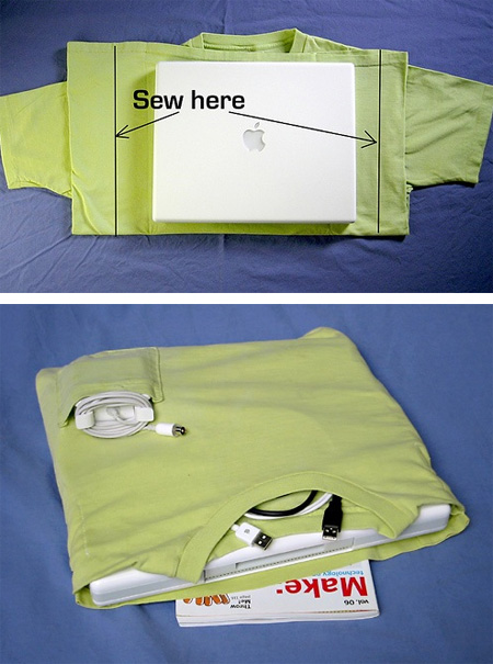 T-Shirt Laptop Case