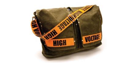 High Voltage Laptop Bag