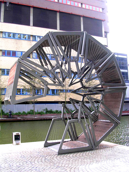Incredible Rolling Bridge in London 6