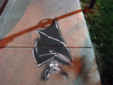 Pedestrian Street Art by Peter Gibson 2