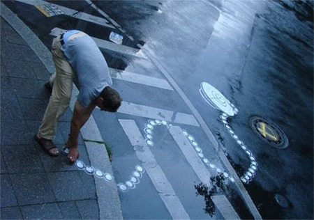 Pedestrian Street Art by Peter Gibson 10