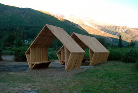 Creative Shelters in Andes Mountains