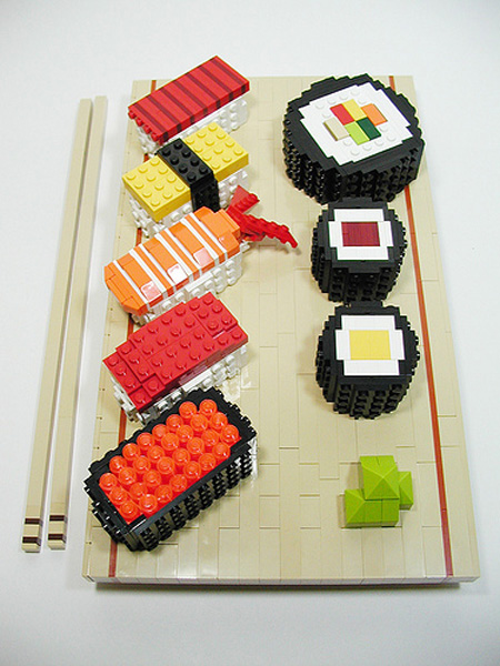 LEGO Sushi 4