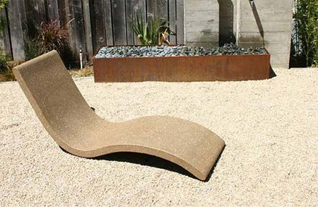 Chaise Lounge by Concreteworks Studio