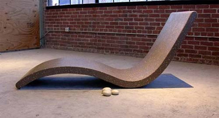 Chaise Lounge by Concreteworks Studio 2