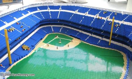 LEGO Yankee Stadium 4
