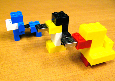 LEGO Brick USB Flash Drive 3