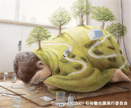 Incredible Paintings by Tetsuya Ishida WwW.Clickherecoolstuff.blogspot.com15